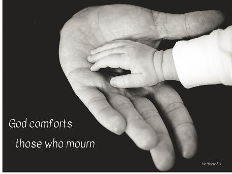 God comforts