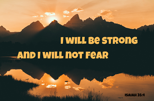 I will be strong