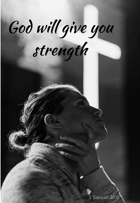 Find your strength in God