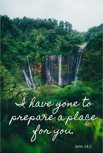 preparing a place